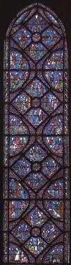 vitrail-de-St-Jacques-le-Ma - Chronologie des vitraux de la cathédrale de Chartres